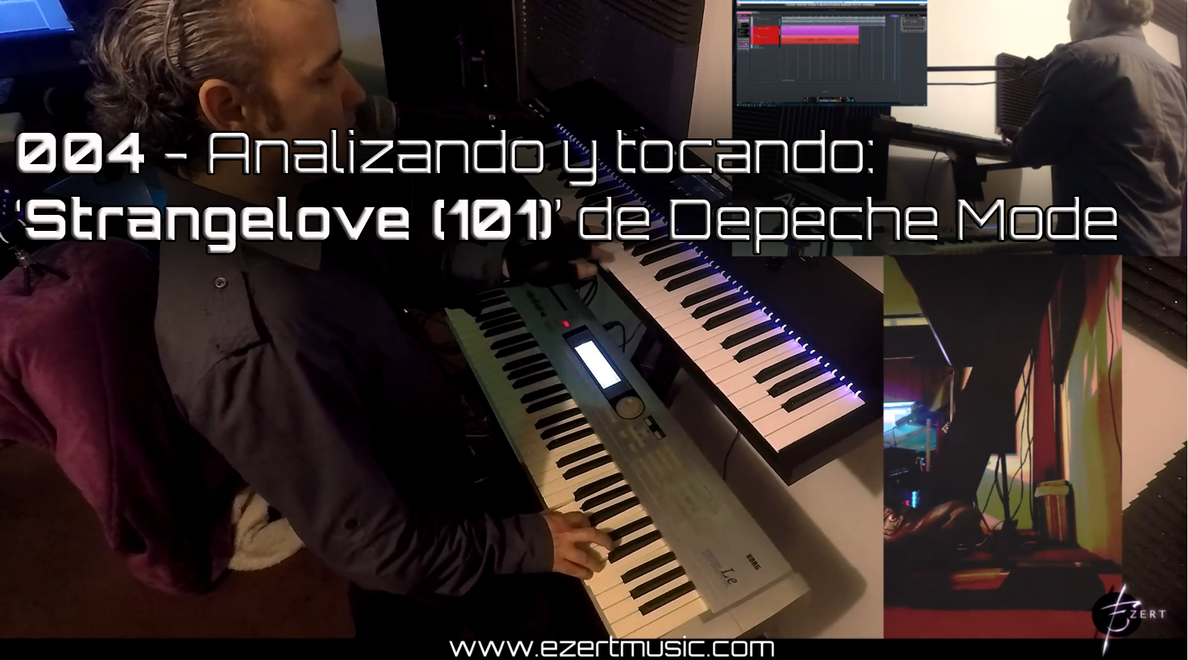 """Ezert analyzes and performs Depeche Mode's """"Strangelove"""" 101 version Subscribe to the channel!"""